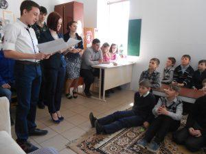 Студенти ФУАІД проводять конкурс у 5-А класі ЗОШ №2 м. Ізмаїла