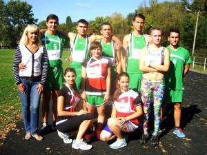 Команда студентів ІДГУ на змаганнях з легкої атлетики