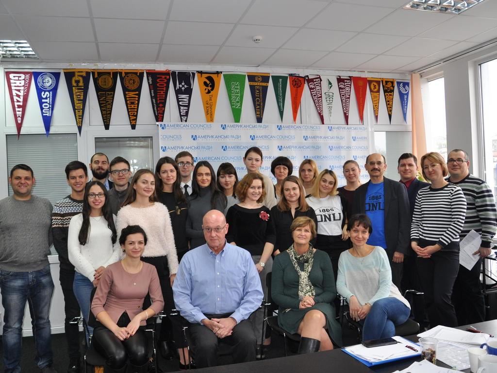 Учасники семінару з академічної доброчесності