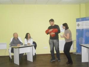Марія Литвинова приймає участь у сценічній виставі