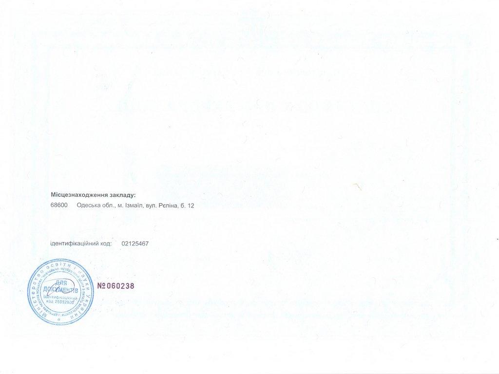 Сертифікат 8.03050401 Економіка підприємства