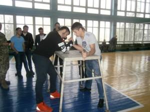 змагання з військово-прикладного мистецтва в спорт-залі ІДГУ