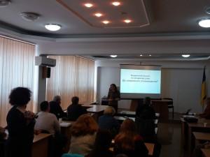 семінар-тренінг для ЗМІ півдня України в ІДГУ