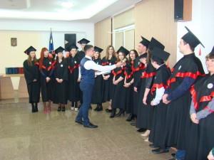 Урочисте вручення дипломів магістра на факультеті управління, адміністрування та інформаційної діяльності