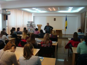 Зустріч з журналістом Сергієм Лащенко «Від куточка до куточка ми єдина Україна»