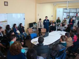 Лекція з пожежної, техногенної безпеки та цивільного захисту в СОУП Ізмаїл