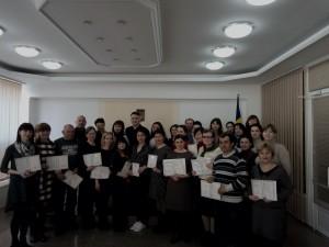 Вручення свідоцтв про підвищення кваліфікації у Центрі неперервної освіти Ізмаїльського державного гуманітарного університета