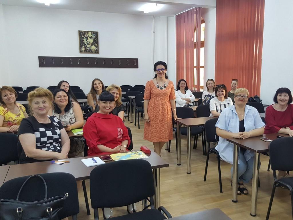 Настаноча зустріч з куратором проекту Джиною Нікулою