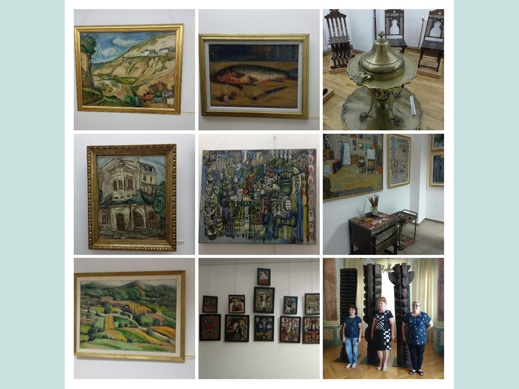 Фонди хужожньої галереї музею історії Кароля І, Браїла