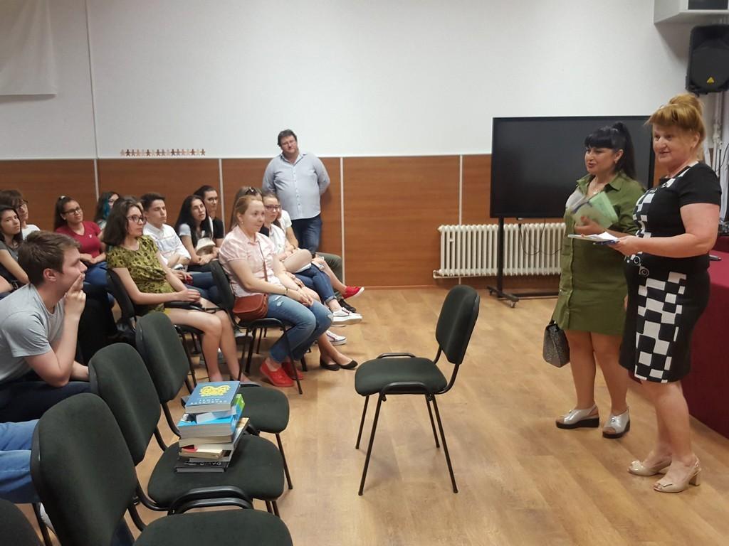 Виступ проф. Кічук Н. В. перед студентами ліцею
