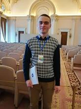 Чебан Павло,  студент IV курсу факультету української філології та соціальних наук