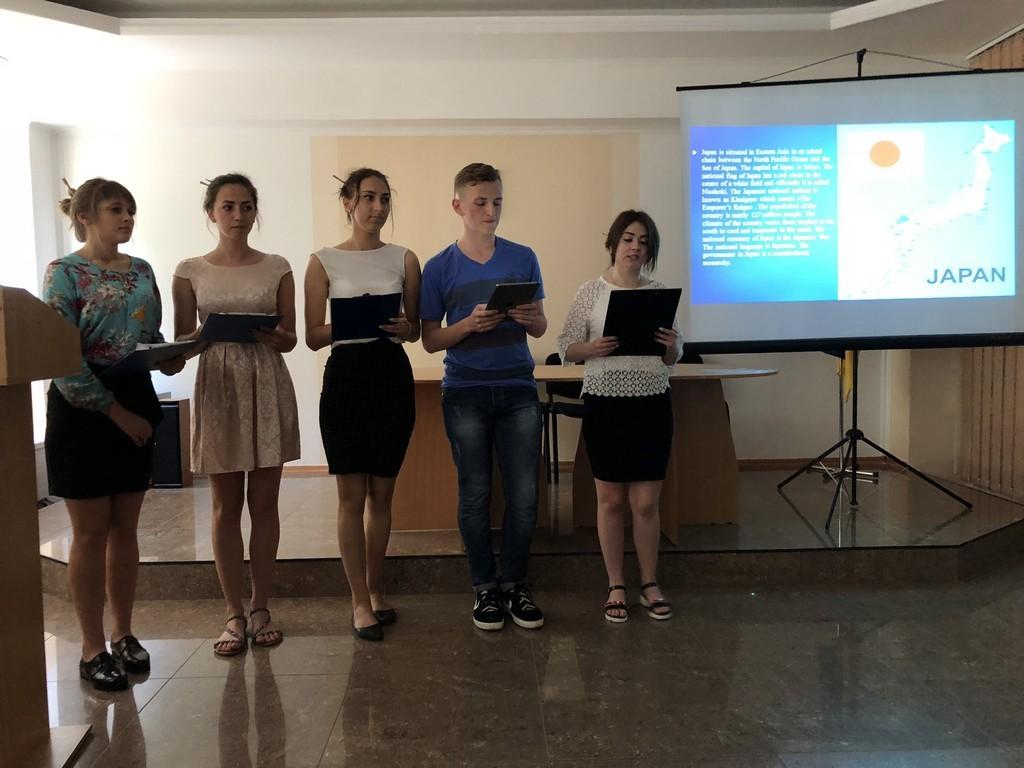 Конкурс студентських проектних робіт з теми «Країна, що захоплює»