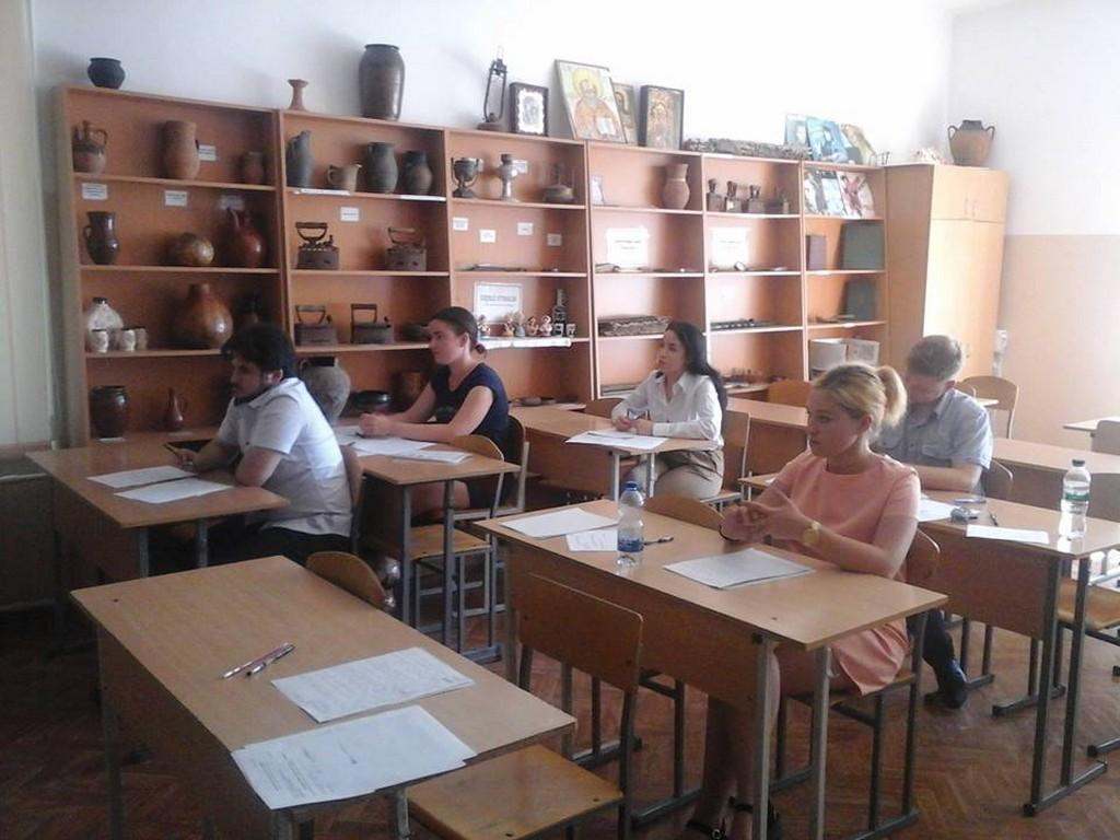 Студенти IV курсу 42 групи ФУФСН успішно склали державний іспит з фаху