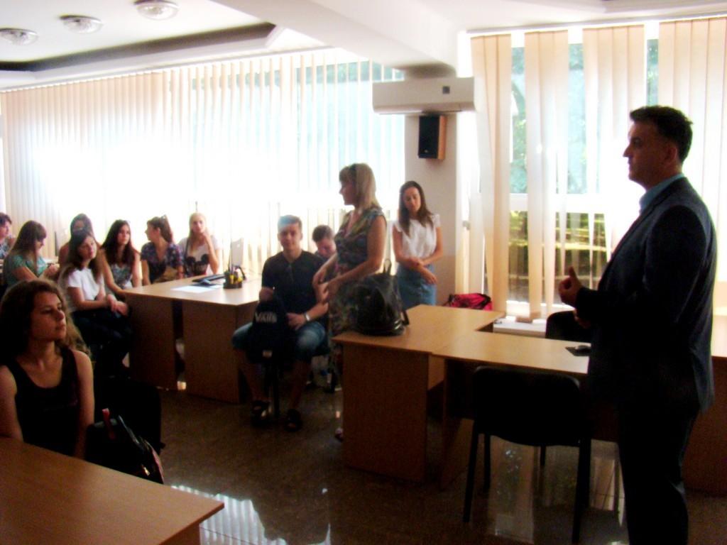 Дружній візит студентів Чернівецького національного університету