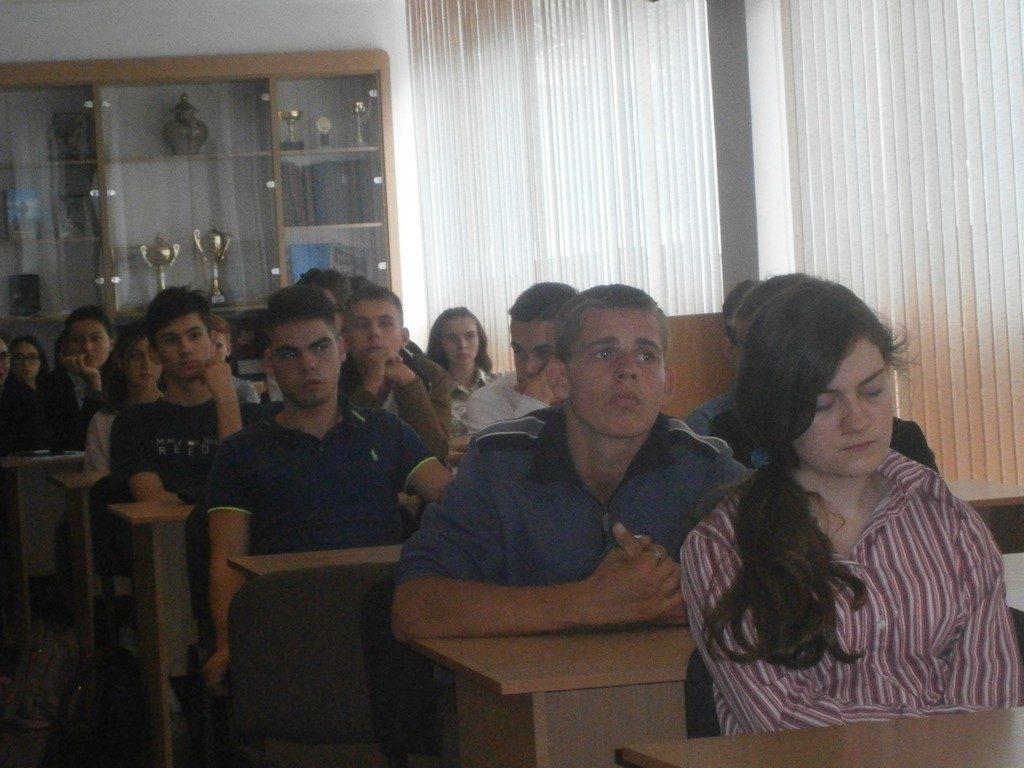 Тематична лекція в ІДГУ «Тероризм. Надзвичайні ситуації. Терористичний акт у навчальному закладі із загрозою вибуху»
