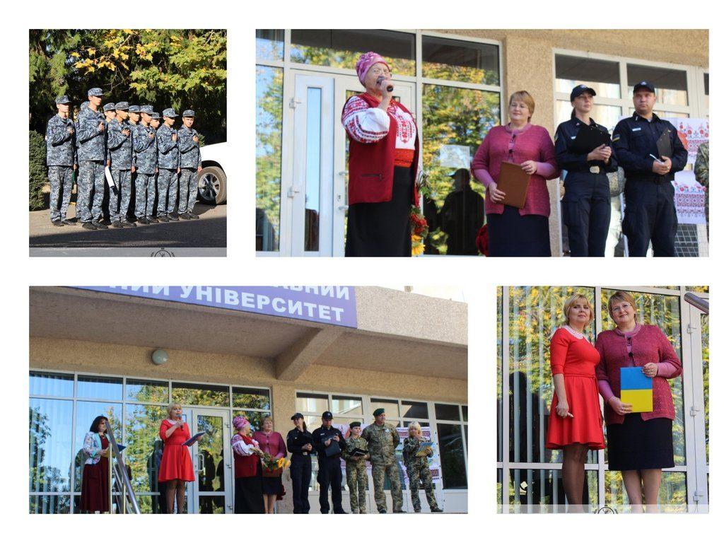 12 жовтня на плацу ІДГУ проведено конкурс маршової патріотичної пісні