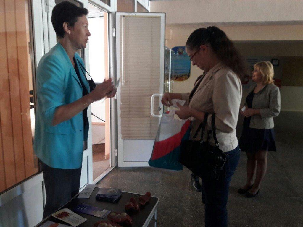 Інтерактивна бесіда студентів з волонтером «Центру Турботи про Життя»