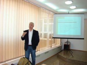 Сергій Квіт провів для викладачів ІДГУ семінар