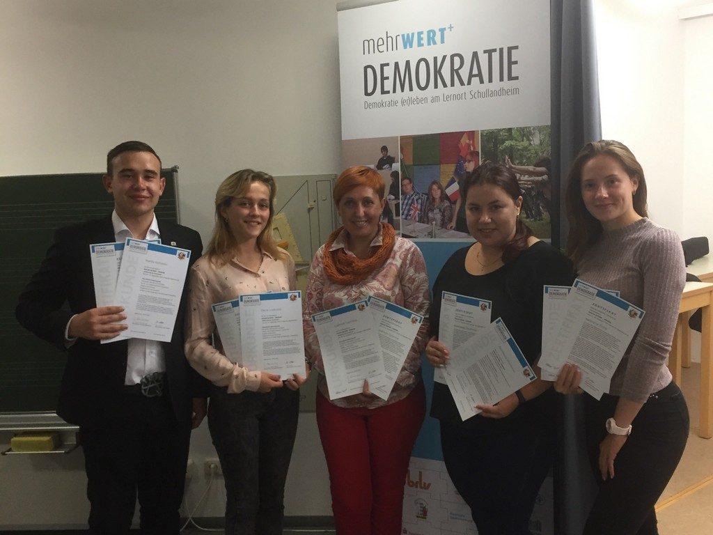 Студенти факультету іноземних мов ІДГУ взяли участь у другій частині міжнародного проекту «Більше демократії»