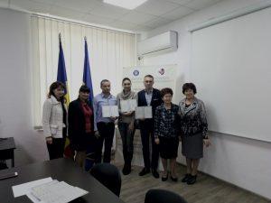 В ЦНО ІДГУ за підтримки Інформаційного центру Румунії при ІДГУ вперше було проведено екзамен на знання іноземної (румунської) мови на рівні В2