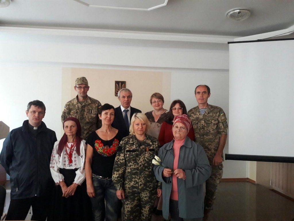 Зустріч з воїнами-учасниками АТО в конференц-залі ІДГУ