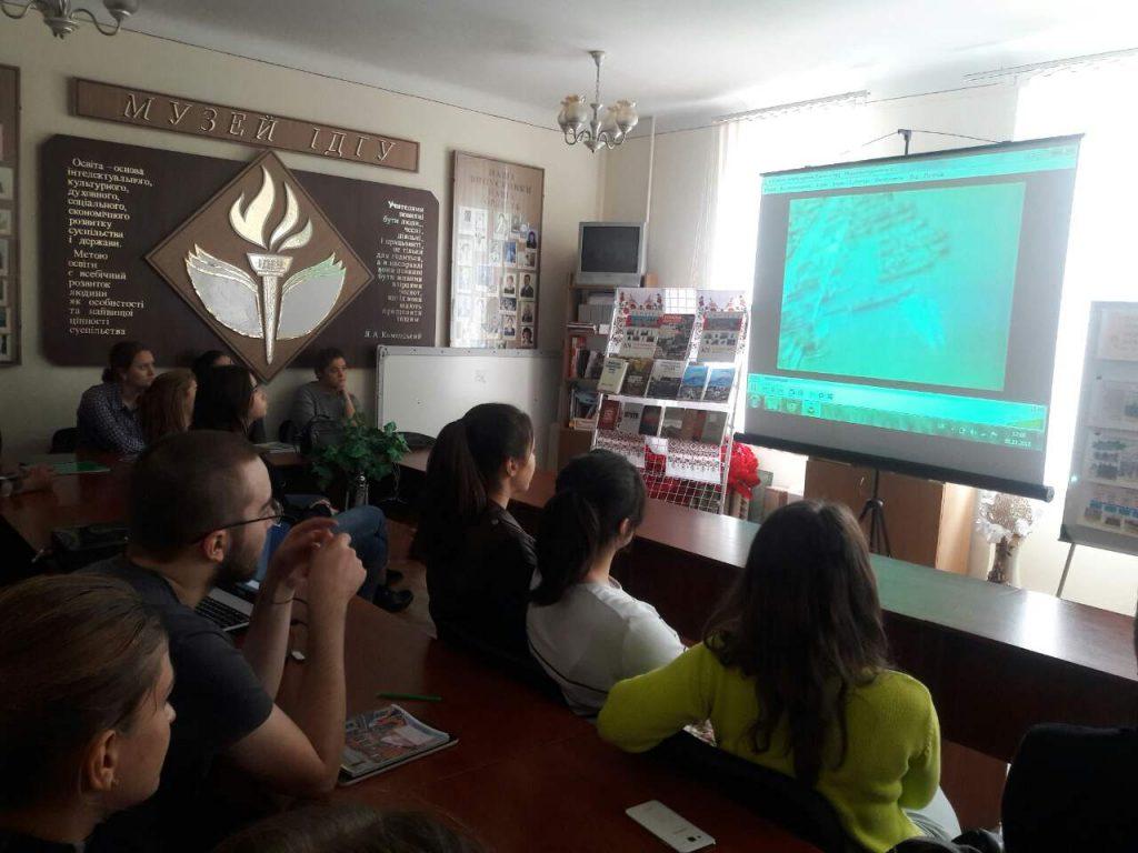 Історична екскурсія в ІДГУ в рамках тижня з нагоди річниці визволення України від німецько-фашистських загарбників