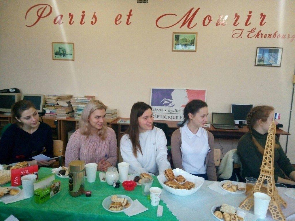 День Святого Миколая на французькому відділенні кафедри романо-германської філології