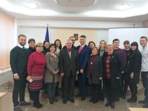 На ФУФСН працювала експертна комісія Міністерства освіти і науки України