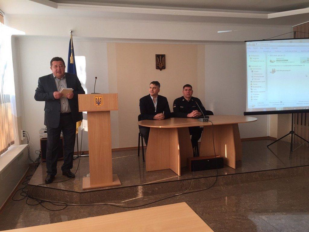 В ІДГУ відбулася зустріч із завідувачем військовою кафедрою Національної академії державної прикордонної служби України ім. Богдана Хмельницького