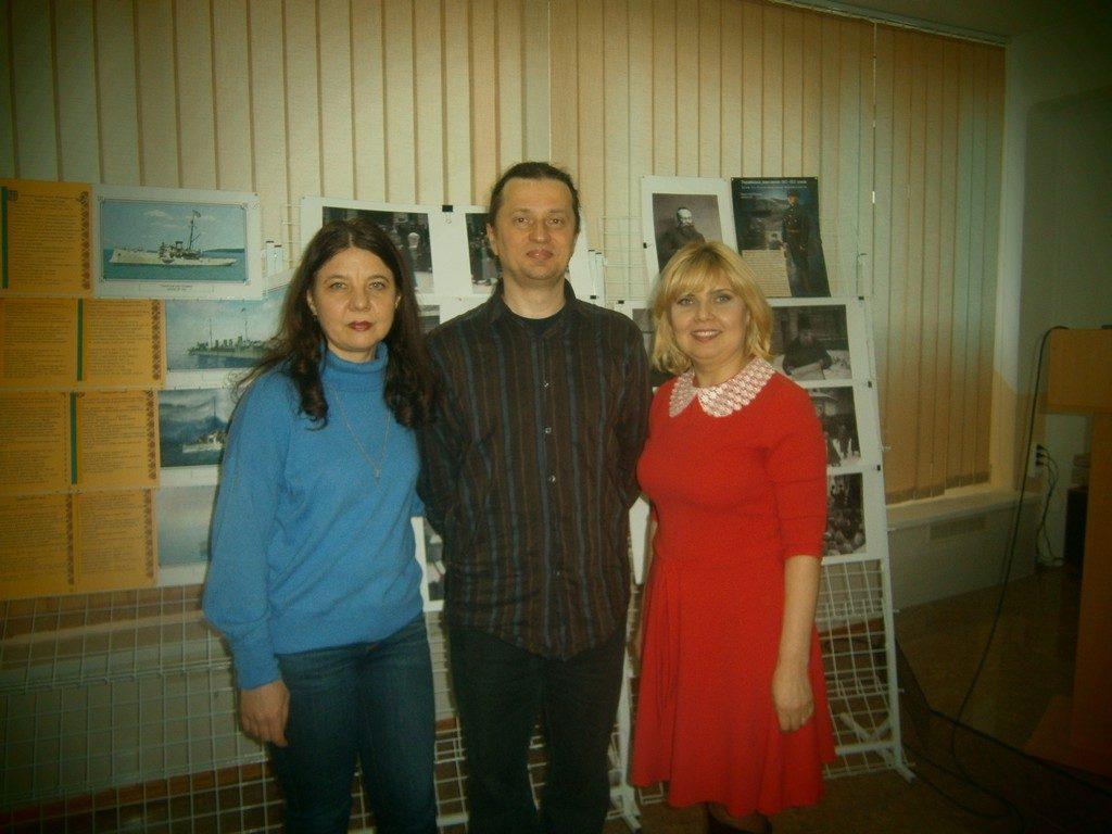 22 лютого в ІДГУ відбулася творча зустріч з Іваном Канівцем, істориком, українським кінорежисером