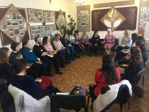 25 лютого в ІДГУ стартував тренінговий курс «Здорова молодь – здорове майбутнє» в рамках програми «Сприяння просвітницькій роботі «Рівний-рівному»