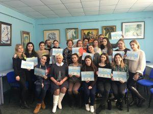 Тренінговий тиждень в рамках програми «Сприяння просвітницькій роботі «Рівний-рівному» серед молоді України щодо здорового способу життя»