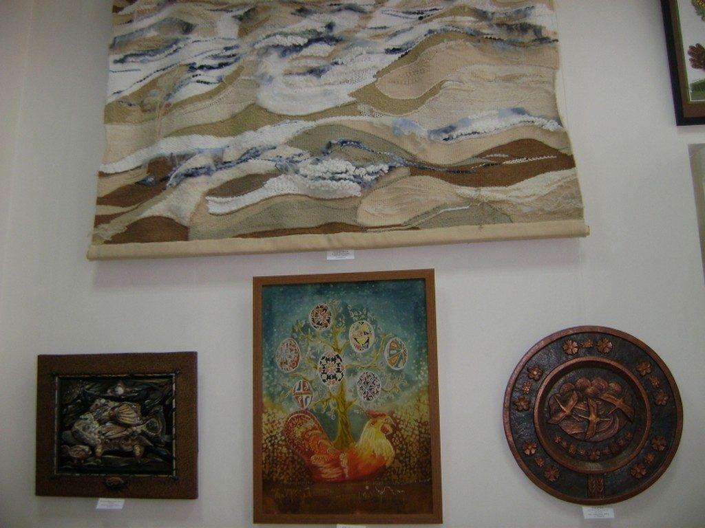 XVIII всеукраїнська виставка НСХУ «Світ Божий як Великдень»