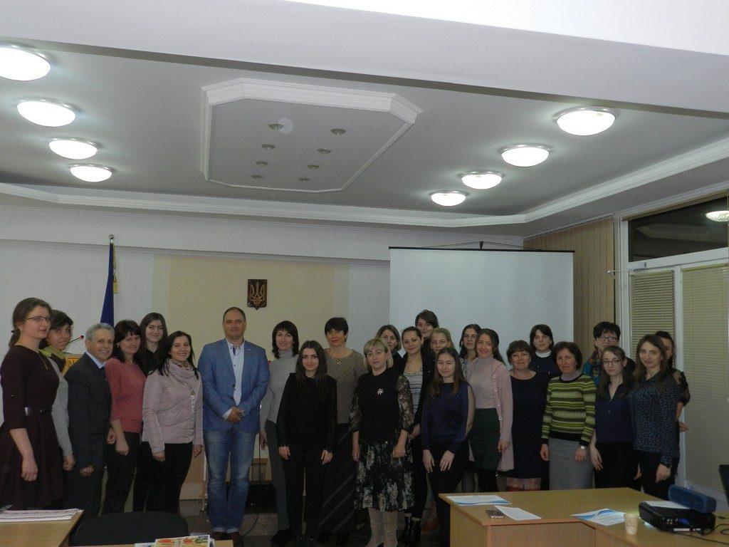 В ІДГУ відбувся науково-практичний семінар «Впровадження інноваційних технологій в практику навчання української мови та літератури в закладах середньої освіти»