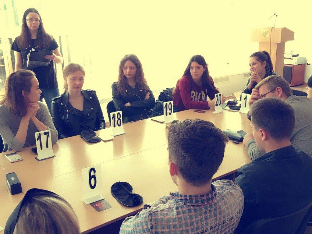 17 травня вперше в ІДГУ була проведена інтелектуальна психологічна гра «Мафія»