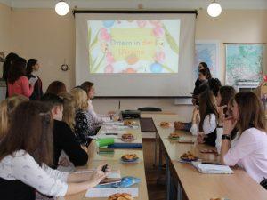 Захід, присвячений святкуванню Пасхи в Україні та Німеччині в рамках проекту «Україна – Німеччина: діалог культур»