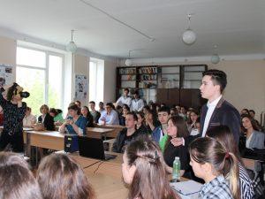 Одним із заходів Фестивалю науки та арт-мистецтв в ІДГУ стали студентські наукові дебати