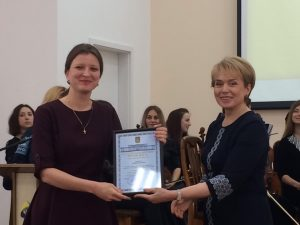 16 травня в Києві, в актовій залі Міністерства освіти і науки України, відбулося урочисте нагородження науковців і освітян з нагоди Дня науки