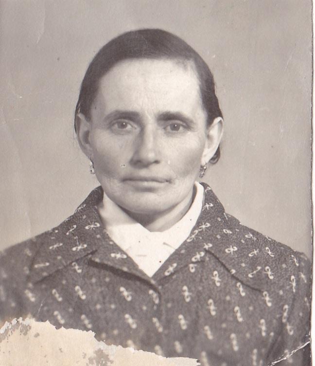 ПОПОВА (Чепой) Єфимія Мартинівна