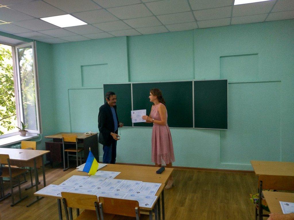 Завершили роботу безкоштовні курси з української мови при Центрі української мови і культури ІДГУ