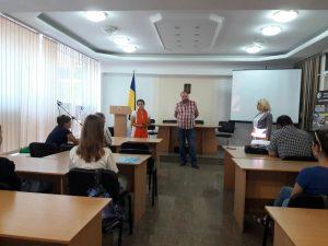 Зустріч з режисером документального фільму «Нескорені духом» Вадимом Антошиним в ІДГУ