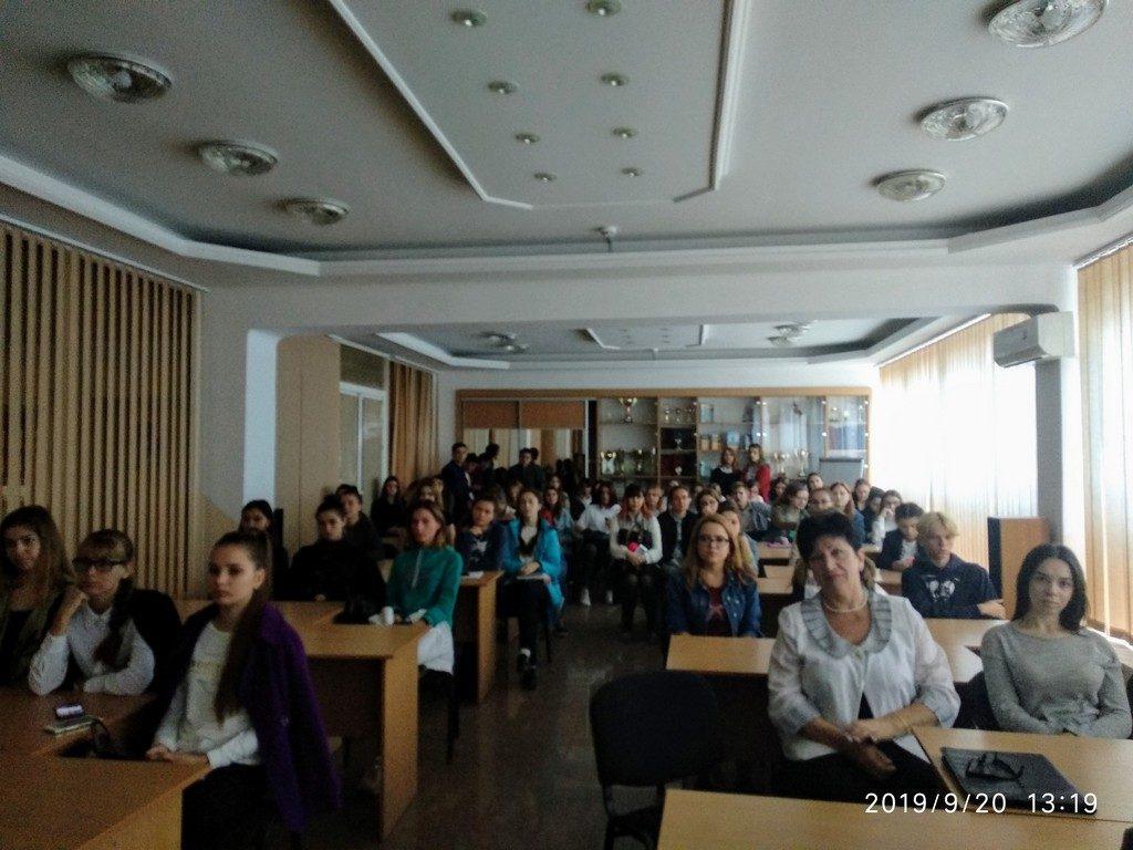 Творча зустріч Дмитра Бураго зі студентами ІДГУ
