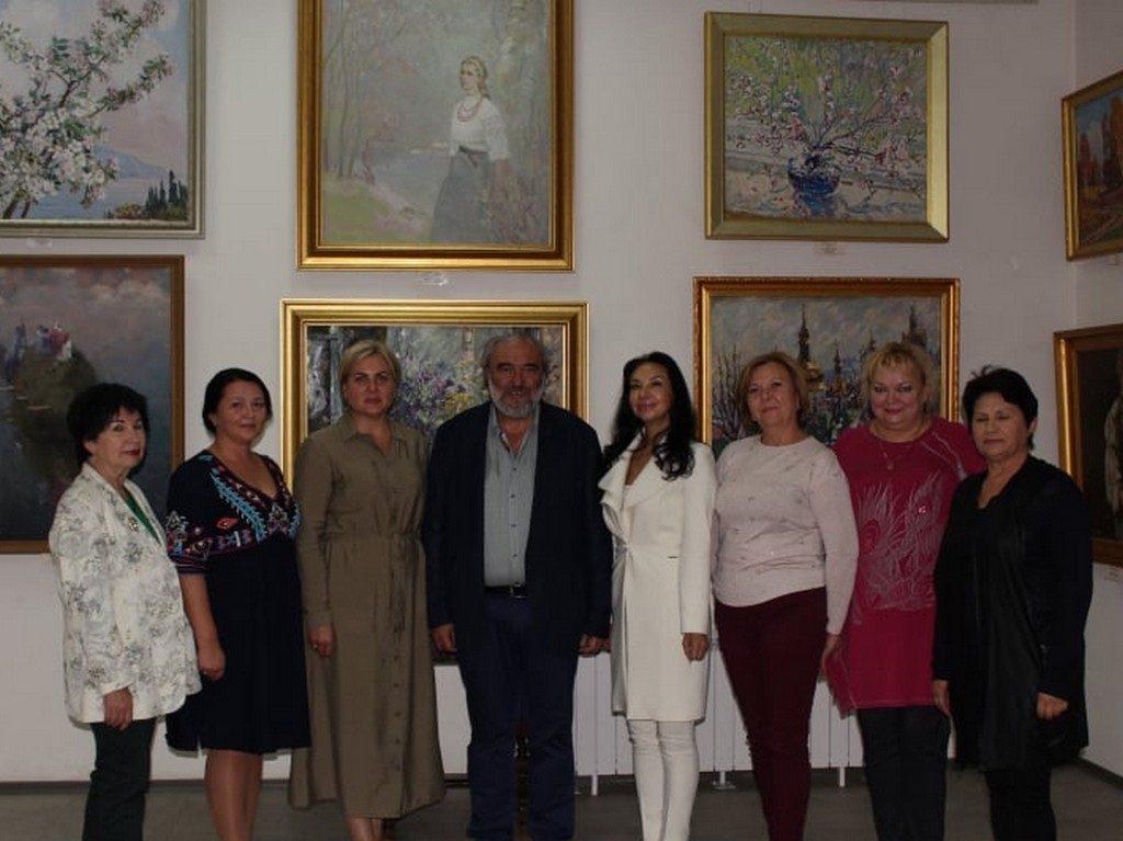 Творча зустріч з поціновувачами поетичного слова в Ізмаїльській картинній галереї