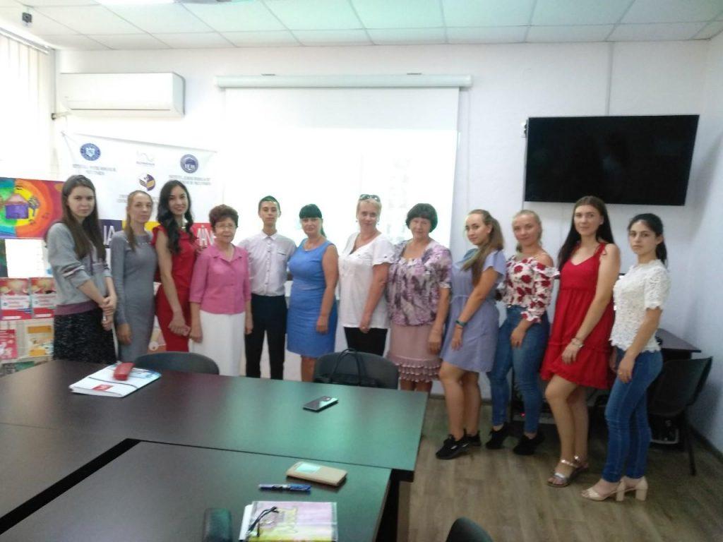 4 вересня 2019 р. в ІДГУ відбувся захід, присвячений румунській мові