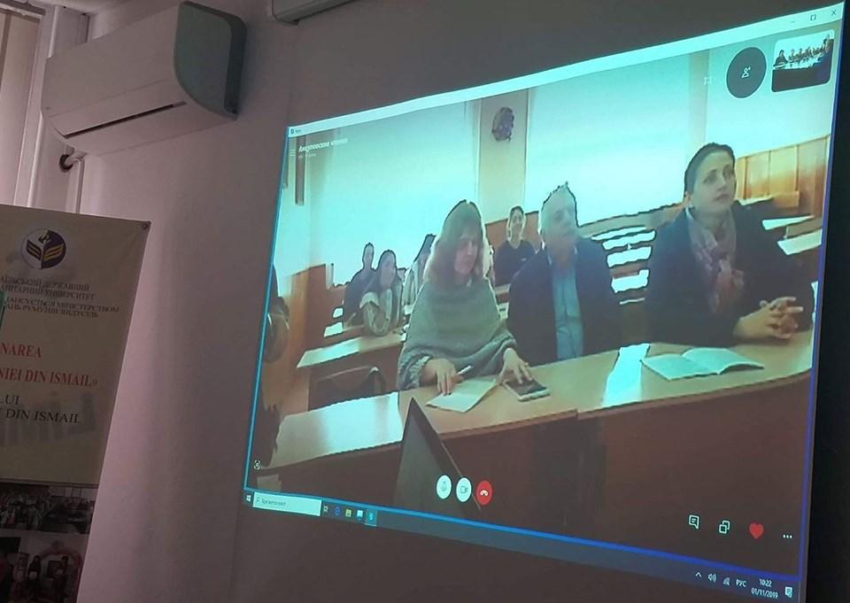 Науковці ІДГУ взяли участь у телемості з Тараклійським університетом ім. Г. Цамблака (Молдова)
