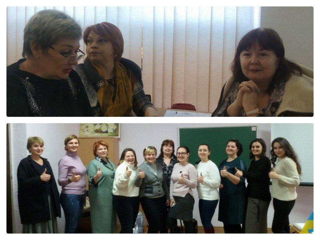 13-24 січня на базі Ізмаїльського університету проходили курси для викладачів та вчителів англійської мови 1