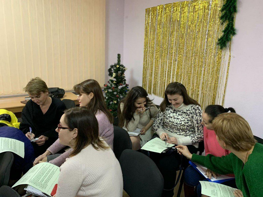 13-24 січня на базі Ізмаїльського університету проходили курси для викладачів та вчителів англійської мови 7