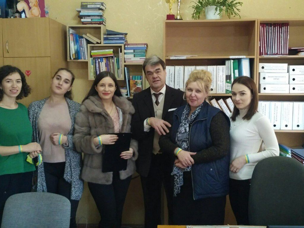 В ІДГУ відбувся ряд заходів з нагоди Дня Соборності України