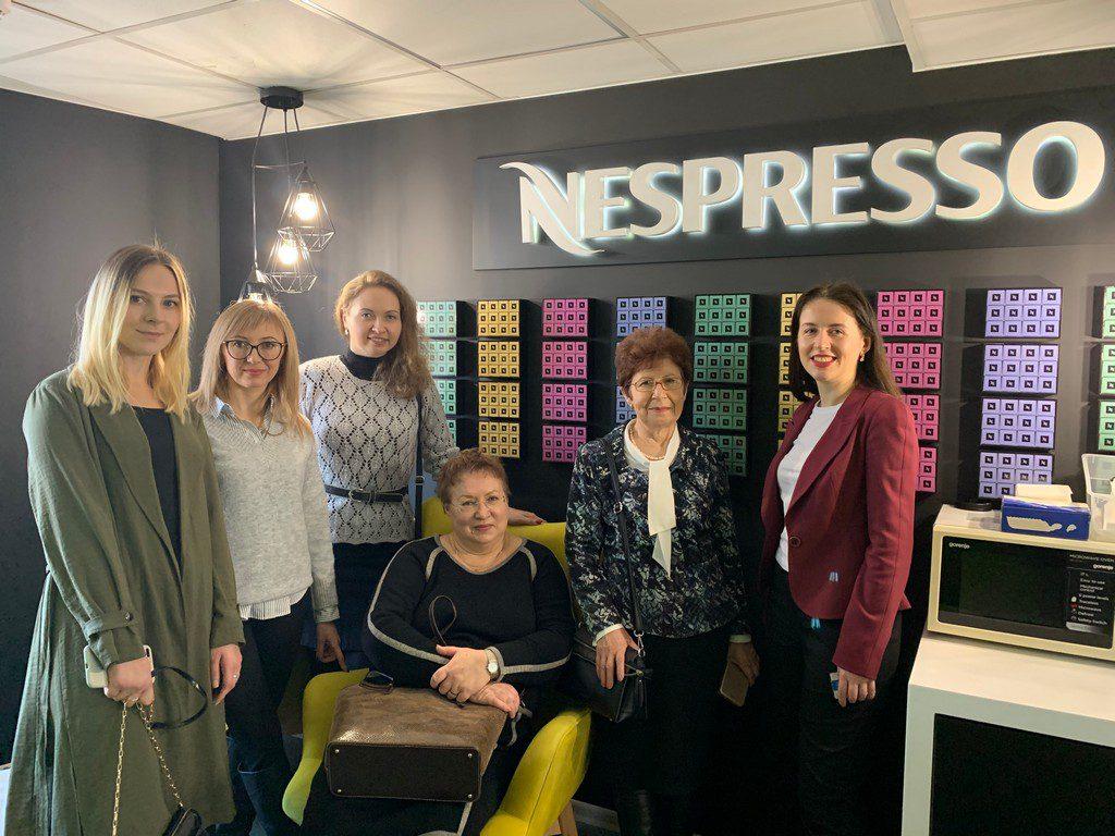 6 та 7 лютого 2020 р. на запрошення фірми Nestlé представники ІДГУ Берестецька О.П. й Голованова О.М. відвідали міжнародний підрозділ фірми Nestlé Business Services Lviv1