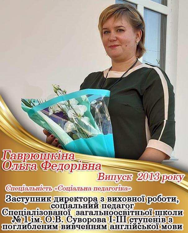 Гаврюшкіна
